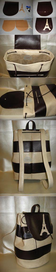 Как сшить рюкзак своими руками из полосокШьем сумки Легко и Просто! | Шьем сумки своими руками. Leather Diy Crafts, Leather Craft, Bags, Leather, Totes, Handbags, Leather Crafts, Dime Bags, Lv Bags