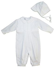Cotton Christening Baptims Pique Longall with Tucks and Embroidery and Hat, Petit Ami, White, 6 Months Petit Ami http://www.amazon.com/dp/B003JXVLGW/ref=cm_sw_r_pi_dp_jSZPub10CTR10
