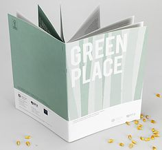 Crush Opuscolo Green Place / Design: Cacao Design http://www.cacaodesign.it