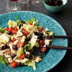 Bild på Grekisk sallad med matvete