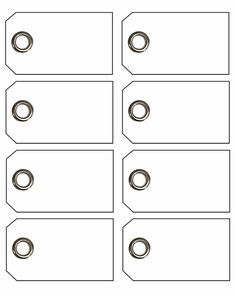 print your own tags on card stock design yourself