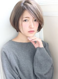 Asian Short Hairstyles That Look Modern Short Hair Back, Asian Short Hair, Long Hair Cuts, Short Hairstyles For Women, Pretty Hairstyles, Corte Bob, Lob Hairstyle, Modern Haircuts, Bad Hair