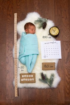 Birth announcement. Sweet idea