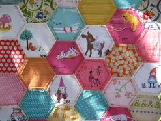 hexagon fever by Aneela Hoey, via Flickr