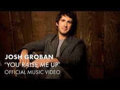 "Josh Groban - You Raise Me Up (Official Music Video) -  Although this is the ""official"" video for this song (and therefore carefully edited), it's still my favorite.  A song for inspiration and one that expresses the highest gratitude...to whomever you need to give it to.  Listen when you're down or when you're joyful...the impact will be the same.  Amazing."