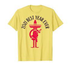 Amazon.com: 2021 Best year Ever T-Shirt: Clothing