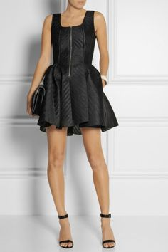 Maje | Gulliver wafer-mesh mini dress | NET-A-PORTER.COM, How would you accessorize this? http://keep.com/maje-gulliver-wafer-mesh-mini-dress-net-a-portercom-by-cocomist/k/z9S8MuABM_/