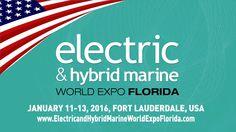 Electric & Hybrid Marine World Expo Florida 2016