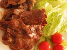 一番簡単★しょうが焼きの画像 Beef Recipes, Cooking Recipes, How To Cook Pork, Menu Planning, Food And Drink, Favorite Recipes, Dishes, Meat, Chicken