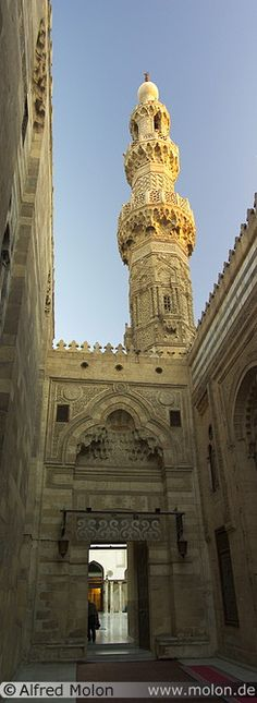 ::::♡م ♡ ✿⊱╮☼ ☾ PINTEREST.COM christiancross ☀❤•♥•* ✨♀✨ ::::  Al Azhar mosque Cairo Egypt