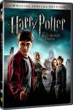 Day 3: Harry Potter and the Half-Blood Prince Movie 6>> this movie was good, but missed soooooooo many key parts it got frustrating.