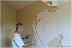 stencil surfer boy room - Google Search
