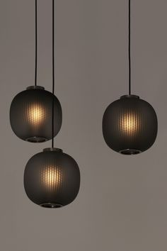 Bloom Pendant Black by Tim Rundle for Resident at Euroluce 2017 | Yellowtrace