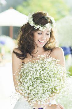 「 かすみ草 」の画像|Erica's wedding diary|Ameba (アメーバ)
