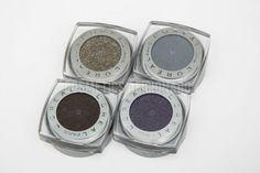 http://www.cosmeticsaficionado.com/loreal-infallible-eyeshadow-swatches/ via @cosmaficionado loreal infallible eyeshadow swatches, continuous cocoa, gilded envy, purple priority, sultry smoke