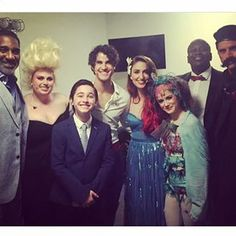 """The show had an all-star cast with Sara Bareilles as Ariel, Darren Criss as Prince Eric, John Stamos as Chef Louis, and Unbreakable Kimmy Schmidt's Tituss Burgess as Sebastian the crab.   Rebel Wilson Absolutely Killed As Ursula In """"The Little Mermaid"""" Live In Concert"""