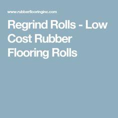 Regrind Rolls - Low Cost Rubber Flooring Rolls