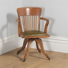 office Elbow Chair Humorous Antique Edwardian Carved Oak Open Armchair With Leather Seat Chairs