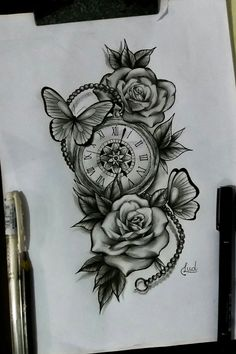 Tattoodo – tattoos for women meaningful Rose Tattoos, Sexy Tattoos, Body Art Tattoos, Hand Tattoos, Small Tattoos, Finger Tattoos, Tatoos, 3 Roses Tattoo, Girl Flower Tattoos