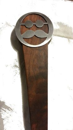 Hey, I found this really awesome Etsy listing at https://www.etsy.com/listing/218397683/beer-tap-handle-mustache-wood-and