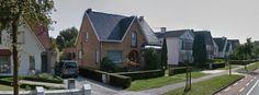 Arquiteturas na Koning Albert I-laan, Bruges