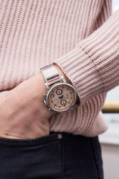 Our favorite Mother's Day gift is this ME to WE beaded Original boyfriend watch.