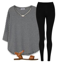 """""""Cute"""" by simply-preppy-girl ❤ liked on Polyvore featuring MANGO, M&S Collection, Steve Madden and Kendra Scott"""