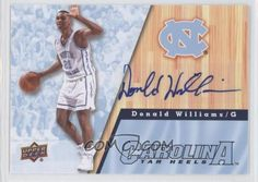 Donald Williams North Carolina
