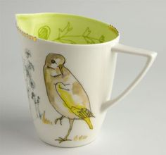 Lowri Davies bird cup