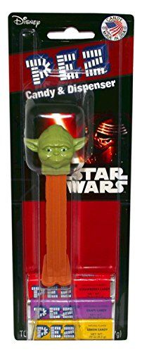 Disney Star Wars Episode 7 Pez Candy and Dispenser on Blister Card