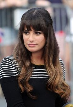 Lea Micheles ombre Hair- would love to try this someday in the future when I want to have long hair again:)