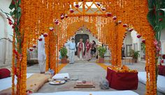 Marigold Mandap | Flickr - Photo Sharing!