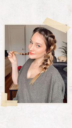 2 maxi tresses collées faciles à réaliser !   + de tutos sur mon compte Instagram. Curls, Profile, Hairstyle, Inspiration, Beauty, Hair Growth, Braid Hair, Style Of Hair, Great Hair