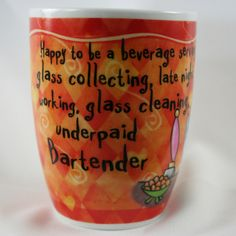 OCCUPATION MUG - BARTENDER