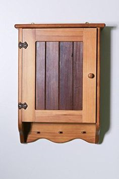 This versatile wooden bathroom cabinet with a front timber panel has 3 shelves on which to store to personal care items like cosmetics, toiletries and dental products etc. The bathroom cabinet has an elegant and compact design and can be mounted on a bathroom wall where the contents are... see more details at https://bestselleroutlets.com/home-kitchen/furniture/bathroom-furniture/product-review-for-bathroom-cabinet-wooden-3-shelves-timber-front/