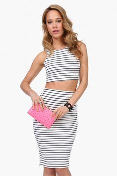 Striped ensemble