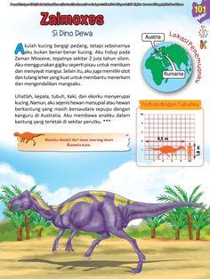 Buku Pintar Ensiklopedia Dinosaurus dan Binatang Purba Katabaca.com Jurassic World, Ipa, Dinosaurs, Studying, Bedtime, Animals Beautiful, Knowledge, Science, Horses
