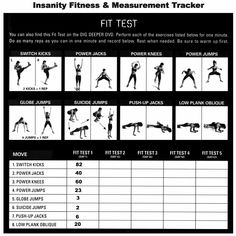 ...   Insanity workout schedule, Insanity workout and Insanity calendar