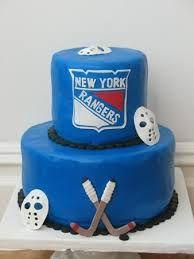 Hockey Cake Bruins On Course