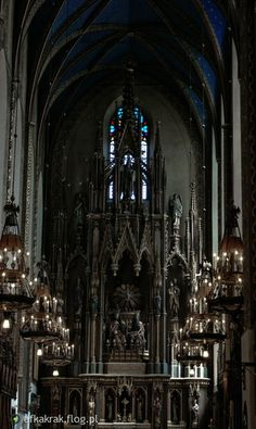 Ołtarz główny kościoła dominikanów w Krakowie. #kraków #cracow #dominikanie #ołtarz #kościół #church #altar
