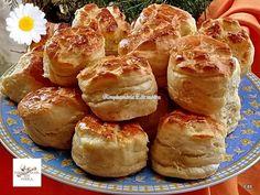Érdekel a receptje? Kattints a képre! Bread Dough Recipe, Savory Pastry, Hungarian Recipes, Pretzel Bites, Cake Cookies, Soul Food, Food And Drink, Sweets, Snacks
