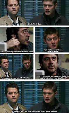 Supernatural - Angel This cracks me up. Every. Time.