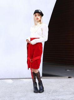 ファッショニスタの最愛「ドクターマーチン」-SARA MARY / TOKYO01