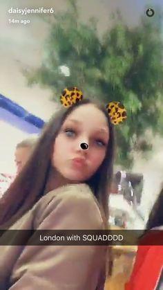 Phoebe on Daisy's snapchat