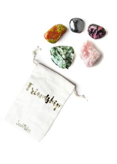 Feel the love. Each gem in this specially curated collection of crystals offers powerful properties that encourage friendship and connection with others. Keep y
