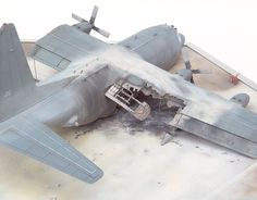 MC-130 Combat Talon 1/72 Scale Model