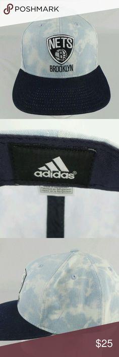 5993a320fbb Adidas Brooklyn Nets Snapback Jean Brim NBA Hat This posting is for a  Adidas Brooklyn Nets