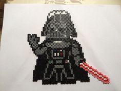 Darth Vader Star Wars hama beads by Celine-creations02