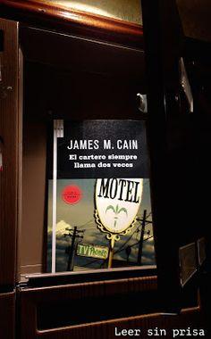 El cartero siempre llama dos veces, de James M. Cain
