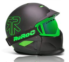 Ruroc RG1-X Black Viper Ski Gear, Snowboarding Gear, Goggles Glasses, Custom Helmets, Viper, Bicycle Helmet, Skate, Skiing, Sports